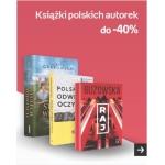 Empik: do 40% rabatu na książki polskich autorek