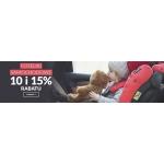 Empik: 10% i 15% rabatu na foteliki samochodowe
