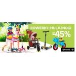 Empik: do 45% zniżki na rowerki i hulajnogi dziecięce