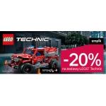 Empik: 20% zniżki na zestawy Lego Technic