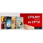 Empik: za 2 filmy na DVD 19,99 zł