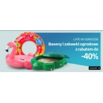 Empik: do 40% rabatu na baseny i zabawki ogrodowe