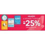 Empik: do 25% rabatu na książki o zdrowiu i rodzinie