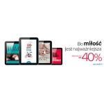 Empik: do 40% rabatu na eBooki z okazji Walentynek