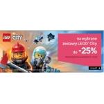 Empik: do 25% zniżki na wybrane zestawy Lego City