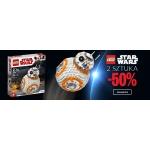 Empik: 50% zniżki na drugą sztukę klocków lego Star Wars
