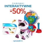 Empik.com: zabawki interaktywne do 50% taniej