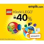 Empik.com: klocki Lego do 40% taniej