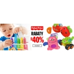 Empik: do 40% rabatu na zabawki Fisher Price