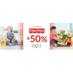 Empik: do 50% rabatu na zabawki Fisher Price