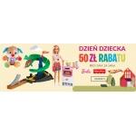 Empik: 50 zł zniżki na produkty marek Barbie, Fisher Price, Hot Wheels na Dzień Dziecka