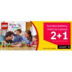 Empik: przy zakupie trzech zestawów klocków Lego, trzeci za 0,02 zł