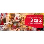 Empik: 3 produkty w cenie 2 z kolekcji świątecznej