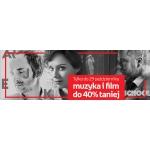 Empik: do 40% rabatu na filmy i muzykę