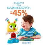 Empik.com: do 45% zniżki na zabawki dla najmłodszych
