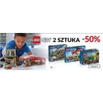 Empik: 50% rabatu na 2 sztukę Lego City