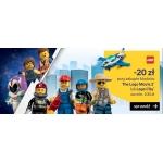 Empik: 20% zniżki na zestawy klocków Lego przy zakupie The Lego Movie 2 lub Lego City za min. 100 zł