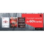 Empik: do 60% zniżki na książki z kategorii Kryminał i Sensacja