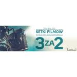 Empik: Setki filmów na Blu-ray i DVD w promocji 3za2