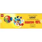 Empik: dodatkowe 15% rabatu na całą ofertę klocków LEGO