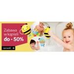 Empik: do 50% zniżki na zabawki kąpielowe