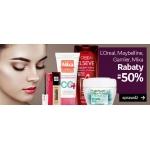 Empik: do 50% rabatu na wybrane kosmetyki L'Oreal, Maybelline, Garnier, Mixa
