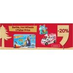 Empik: 20% zniżki na zabawki Barbie, Hot Wheels i Fisher Price