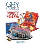Empik.com: do 60% zniżki na gry i puzzle