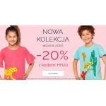 Endo: 20% zniżki na nową wiosenną kolekcję odzieży dziecięcej