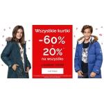 Endo: 60% rabatu na wszystkie kurtki dziecięce + 20% na wszystko
