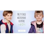 Endo: do 40% rabatu na wszystkie wiosenne kurtki dziecięce