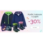 Endo: 30% rabatu na kurtki, kalosze i czapki dziecięce
