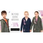 Endo: 30% zniżki na dziecięce kurtki wiosenne