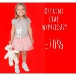 Endo: wyprzedaż do 70% rabatu na ubranka dziecięce