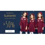 Endo: do 50% zniżki na świąteczne sukienki dla dziewczynek