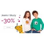 Endo: 30% rabatu na jeans i bluzy dla dzieci