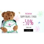 Endo: Majówkowe Happy Hours do 50% zniżki na ubranka dla dzieci