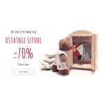 Endo: do 70% rabatu na ostatnie sztuki ubranek dziecięcych