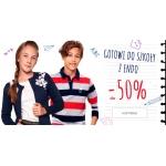 Endo: do 50% zniżki na na dziecięce ubrania do szkoły