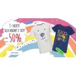 Endo: do 50% zniżki na t-shirty dla mamy i taty