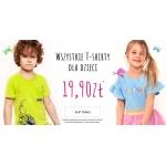 Endo: wszystkie t-shirty dla dzieci w cenie 19,90 zł