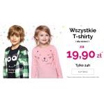 Endo: wszystkie t-shirty dla dzieci za 19,90 zł