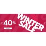 Eobuwie: zimowa wyprzedaż do 40% rabatu na obuwie damskie, męskie i dziecięce, sport, akcesoria i torebki