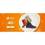 Eobuwie: zimowa wyprzedaż do 40% rabatu na obuwie damskie, męskie oraz dziecięce