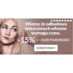 Estyl: 15% rabatu na kosmetyki o dużych pojemnościach