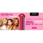 Ezebra: do 25% rabatu na kosmetyki marki NYX z okazji Dnia Kobiet
