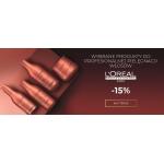 Ezebra: 15% rabatu na kosmetyki do profesjonalnej pielęgnacji włosów marki L'Oreal