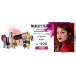 Ezebra: do 50% rabatu na kosmetyki do makijażu marek Maybelline, L'Oreal, NYX