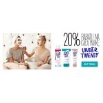 Ezebra: 20% zniżki na kosmetyki marki Under Twenty