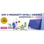 Ezebra: do 20% rabatu na kosmetyki marki Nivea